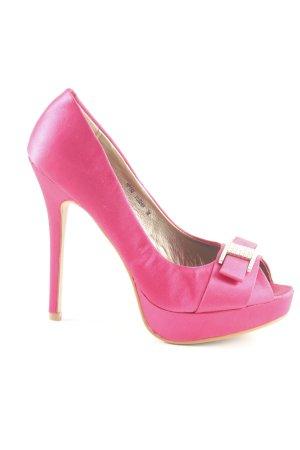 Jumex High Heels pink extravaganter Stil