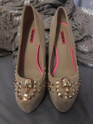 Jumex high Heels in beige