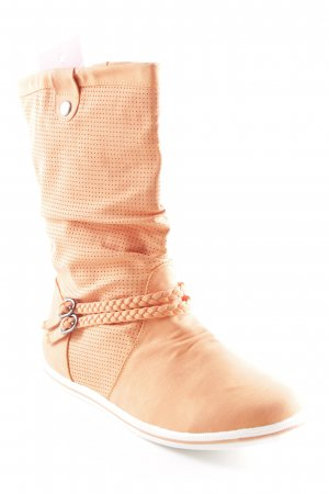 Jumex Kurzstiefel orange Urban-Look