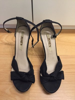 Jumex Wedge Sandals black