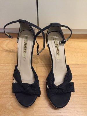 Jumex Wedge Sandals black
