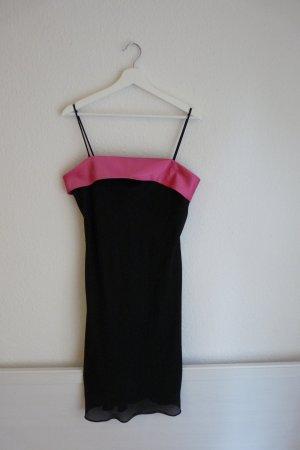 Jump Apparel Kleid L 42 *NEU* schwarz pink Party Abschlussball sexy Blogger Fashion