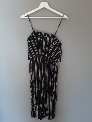 24Colours Tailleur pantalone bianco-nero