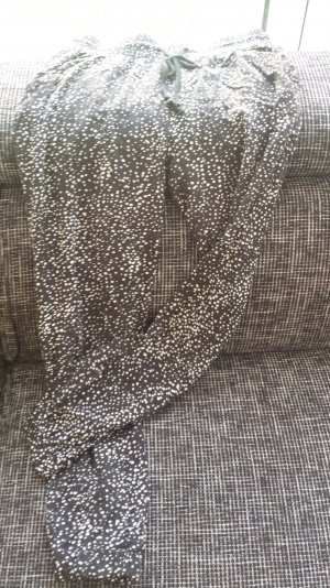 Jumphose schwarz mit weißen Punkten