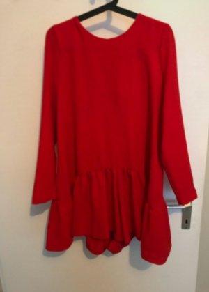 Zara Jumpsuit orange-red