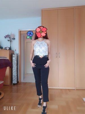 100% Fashion Tuta nero-argento