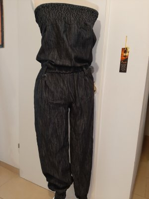 Bib Denim black-anthracite