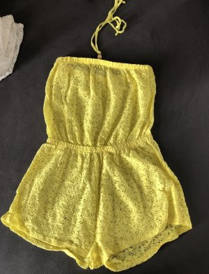 Knitted Twin Set yellow