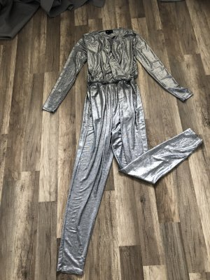 Monki Onesie color plata-gris claro