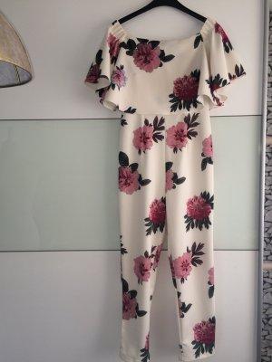 Asos Camicetta con arricciature bianco-rosa pallido