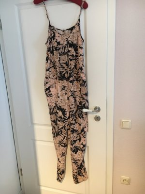 H&M Jumpsuit nude-black