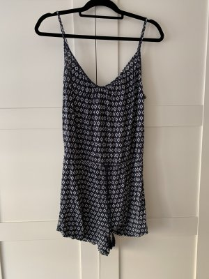 H&M Twin Set tipo suéter white-blue