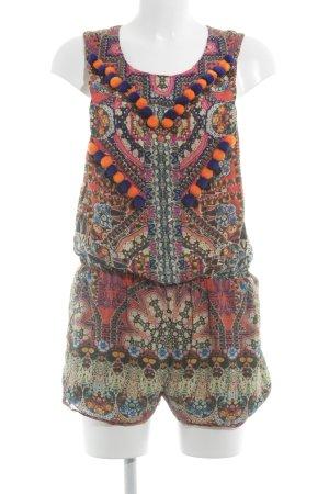 Jumpsuit abstraktes Muster Gypsy-Look