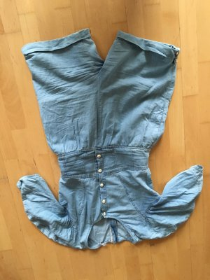 Jumpsuit aus Denim in light blue von See by Chloe, ungetragen