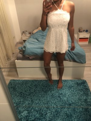 AX Paris Robe en dentelle blanc