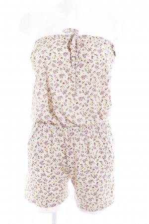 Jumpsuit Blumenmuster Beach-Look