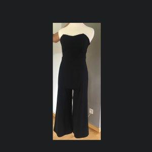 Jumpsuit, Culotte, Corsagen Oberteil, Zara, schwarz, Gr.L (fällt klein aus),neu