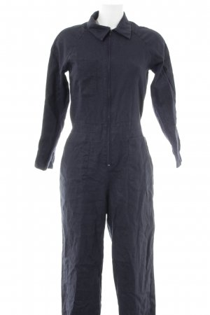Jumpsuit dark blue casual look