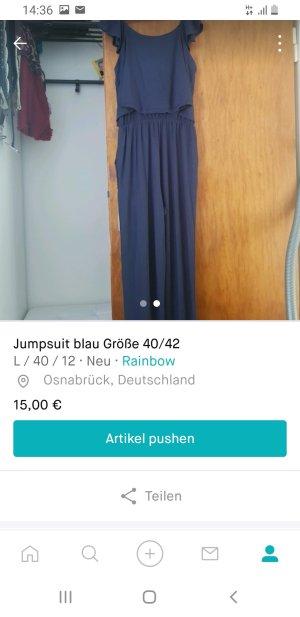 b.p.c. Bonprix Collection Jumpsuit blue