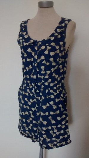 jumpsuit Einteiler Gr. UK 10 EUR 38 Schleifen Influence 100% Viscose