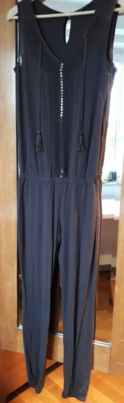 Expresso Jumpsuit donkerbruin