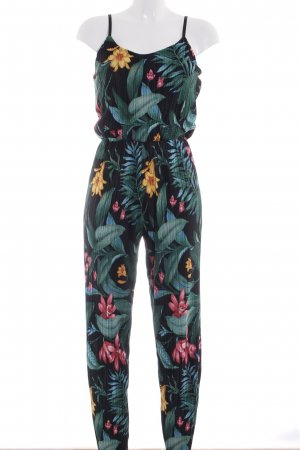 Jumpsuit floral pattern casual look