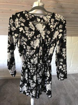Jumpsuit H&M Gr.36 schwarz weiß