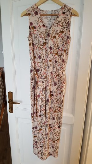 Ichi Jumpsuit rose-gold-coloured-natural white cotton