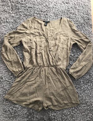 Jumpsuit in Khaki Forever 21