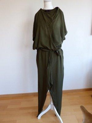 Jumpsuit in Khaki von Hallhuber, Größe 42