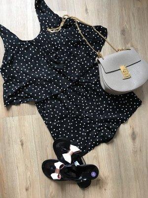 Zara Jumpsuit zwart-wit