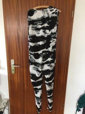 Jumpsuit in schwarz weiß