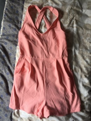 Jumpsuit kurz rosa in der Größe 32/34