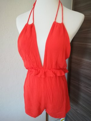Jumpsuit orange, PULL&BEAR