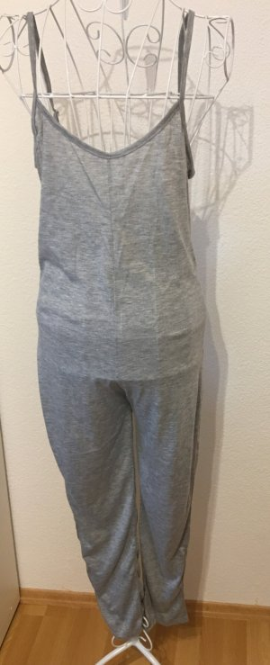 Jumpsuit silver-colored
