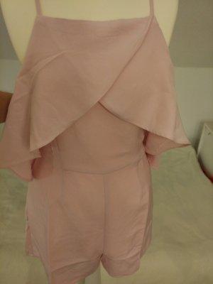 Jumpsuit Overall kurz für Damen in rosa von AMISU Gr. M mit Etikett und ungetragen!