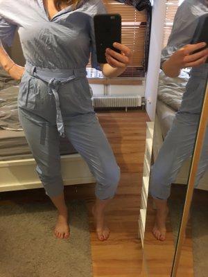 Jumpsuit overall light blue Zara
