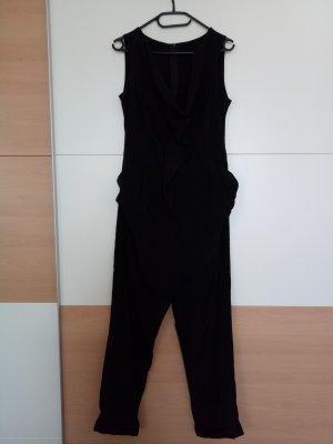 Jumpsuit schwarz extravagant