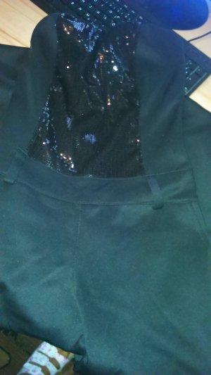 Jumpsuit black spandex