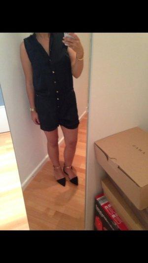 Jumpsuit schwarz/Gold