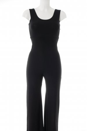 Jumpsuit schwarz Street-Fashion-Look
