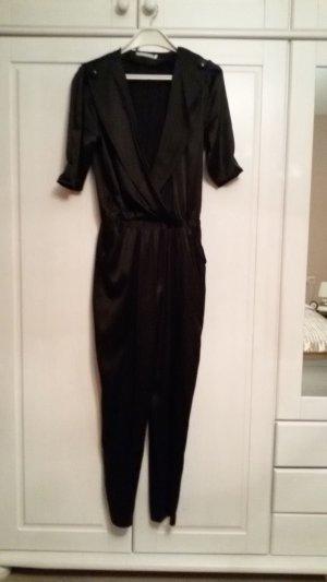 Jumpsuit Seide schwarz Gr. S 36/38 Neu mit Etikett NP 200€ Overall
