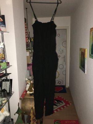 Jumpsuit Sublevel schwarz in Größe S