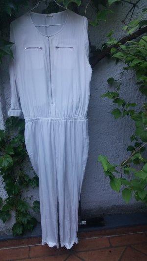 """Jumpsuit Trendmarke """"American Vintage"""" weiß/zartes Lichtgrau"""