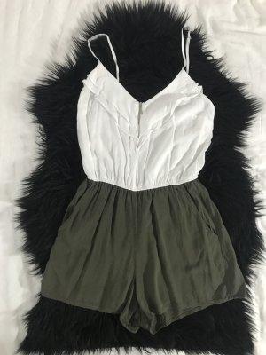 Tally Weijl Combinaison blanc-gris vert