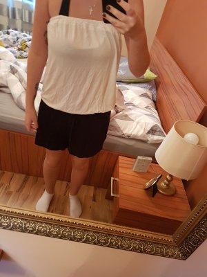 Jumpsuit weiß/schwarz Größe S