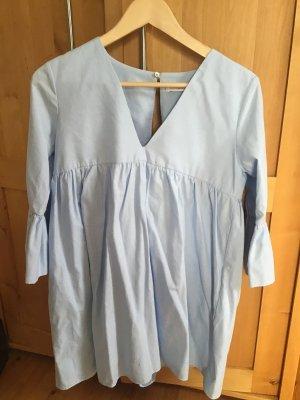 Zara Moda azul celeste
