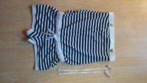 Amisu Combinaison blanc-bleu
