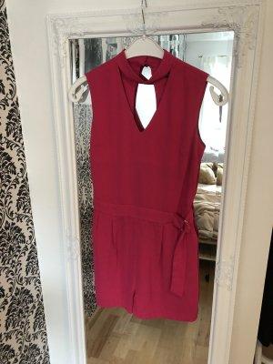 Reserved Tuta rosso lampone-rosa