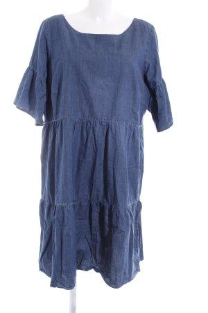 Junarose Denim Dress blue casual look